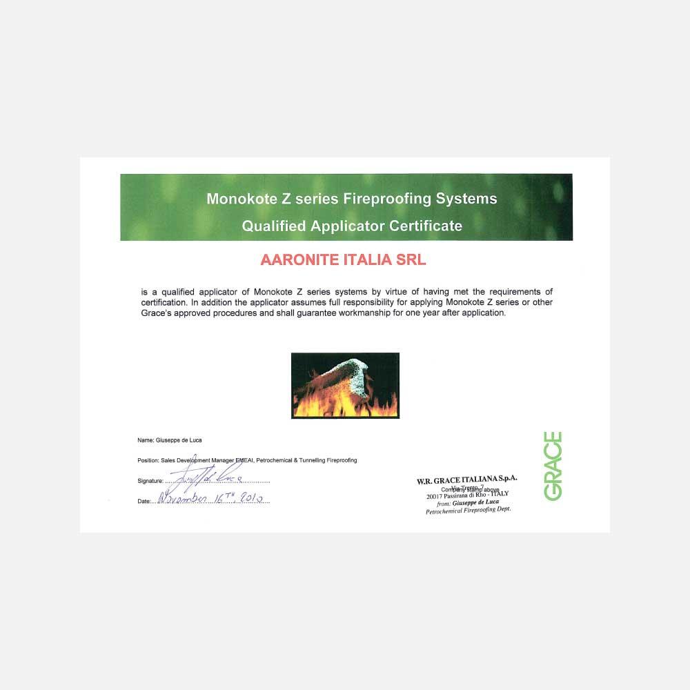 Licenze di applicazione Aaronite